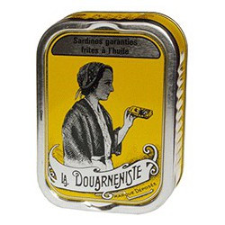 "Fried sardines in peanut oil, ""La Douarneniste"""