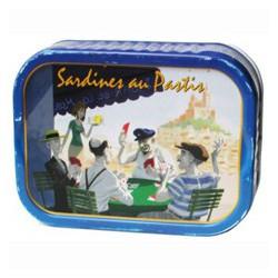 Sardines with pastis