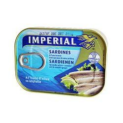 Sardines à l'huile d'olive sans peau et sans arête