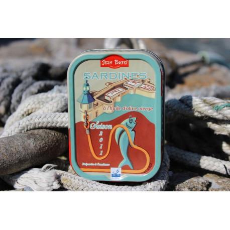 Sardines à l'huile d'olive La Ville-Close Réédition 2018