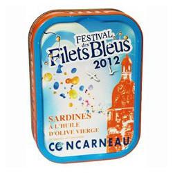 Sardines à l'huile d'olive vierge Festival des Filets Bleus 2012 Réédition 2018