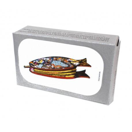Petites sardines fumées à  l'huile d'olive vierge extra
