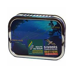 """Sardines à l'huile d'olive  """"Route du Rhum"""""""