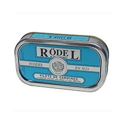 Filets de sardines à l'huile d'olive sans peau et sans arêtes, 69g