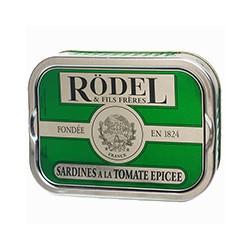 Sardines à l'huile d'olive et à la tomate épicée