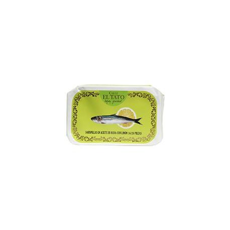Petites sardines à l'huile d'olive et au citron