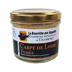Rillettes de carpe de Loire fumée