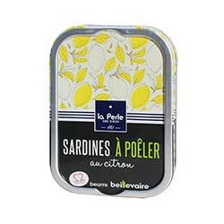 Sardines à poêler au citron et beurre Beillevaire