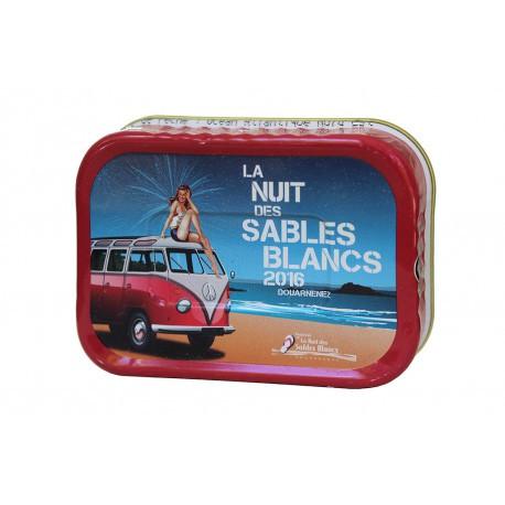 Sardines à l'huile d'olive La Nuit des sables Blancs 2016