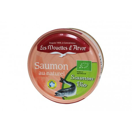 Saumon au naturel bio
