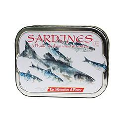 sardines à l'huile d'olive vierge extra 2012
