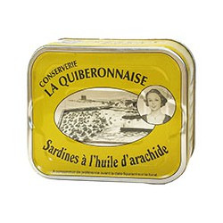 Sardines à l'huile d'arachide 232g