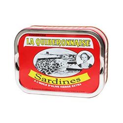 Sardines millésimées 2017 à l'huile d'olive