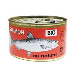 Saumon Atlantique BIO au naturel