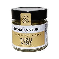 Moutarde aux algues yuzu et nori