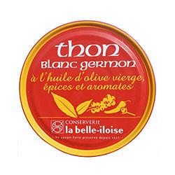 Thon blanc germon à l'huile d'olive vierge, épices et aromates