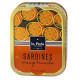 Sardines à l'huile de colza et à l'orange
