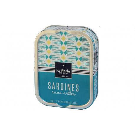 Sardines sans arêtes à l'huile d'olive vierge extra