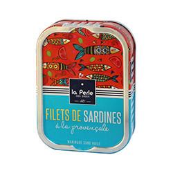Filets de sardines sans huile, à la provençale