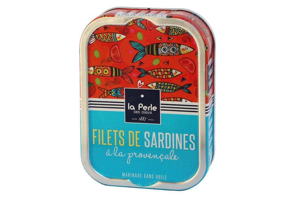 Filets de sardines sans huile la proven ale - Cuisiner des filets de sardines fraiches ...
