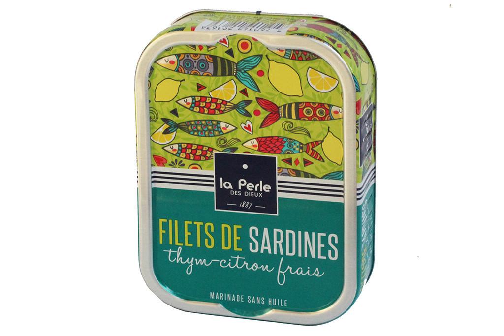 Filets de sardines thym citron frais - Cuisiner des filets de sardines fraiches ...