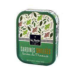 Sardines grillées herbes de provence