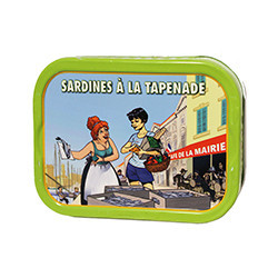 Sardines with tapenade