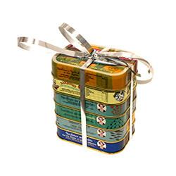 Assortiments de saveurs pour sardines La Quiberonnaise