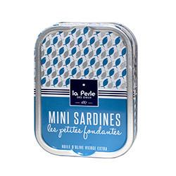 Mini sardines les petites fondantes à l'huile d'olive