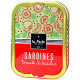 Sardines tomate & basilic