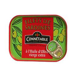 Filets de sardines à l'huile d'olive vierge extra