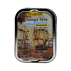 Sardines à l'huile d'olive vierge extra, Temps Fête Festival Maritime Douarnenez 2018