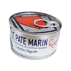 Pâté marin de thon blanc germon et cochon breton