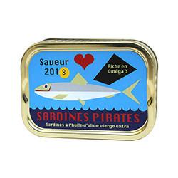 Sardines à l'huile d'olive vierge extra saison 2018