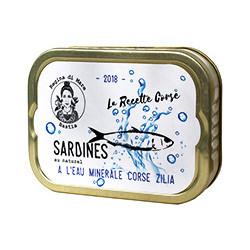 Sardines à l'eau minérale corse Zilia