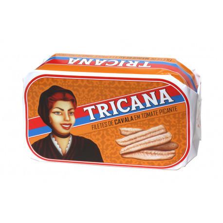 Filets de maquereau à la sauce tomate piquante