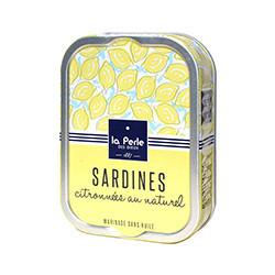 Sardines citronnées au naturel BIO