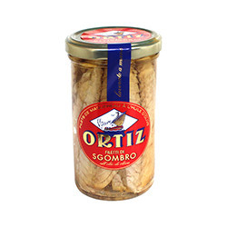 Filets de maquereau à l'huile d'olive 250g
