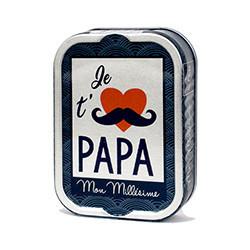 Sardines à l'huile d'olive - Je t'aime papa
