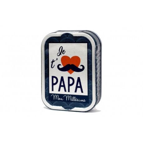 Sardines à l'huile d'olive - Tel père tel fils