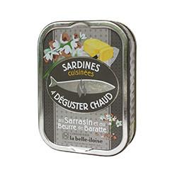 Sardines au sarrasin et au beurre de Baratte