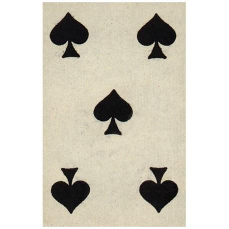 Carte postale, jeux de cartes