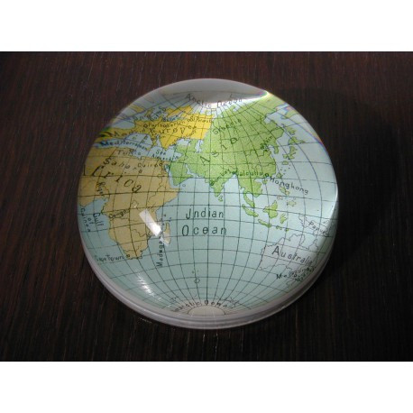 """Presse-papiers """"asiatique mappemonde """""""