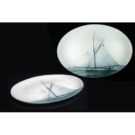 "Sailing boat plate ""Choctaw"""