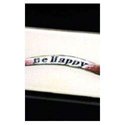 "Plat ""Be happy"""