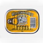 Sardines à l'huile de soja, 2007. Club des Millionnaires, Canada.