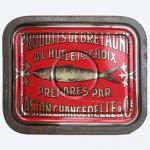 Sardines à l'huile, Chancerelle, France.