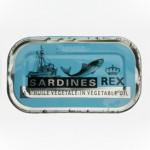 Sardines à l'huile végétale, 2005, Rex, Maroc.