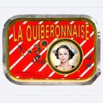 Sardines à l'huile d'olive, 1990, La Quiberonnaise, France.