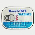 Sardines in water, 2007. Beach Cliff, USA.